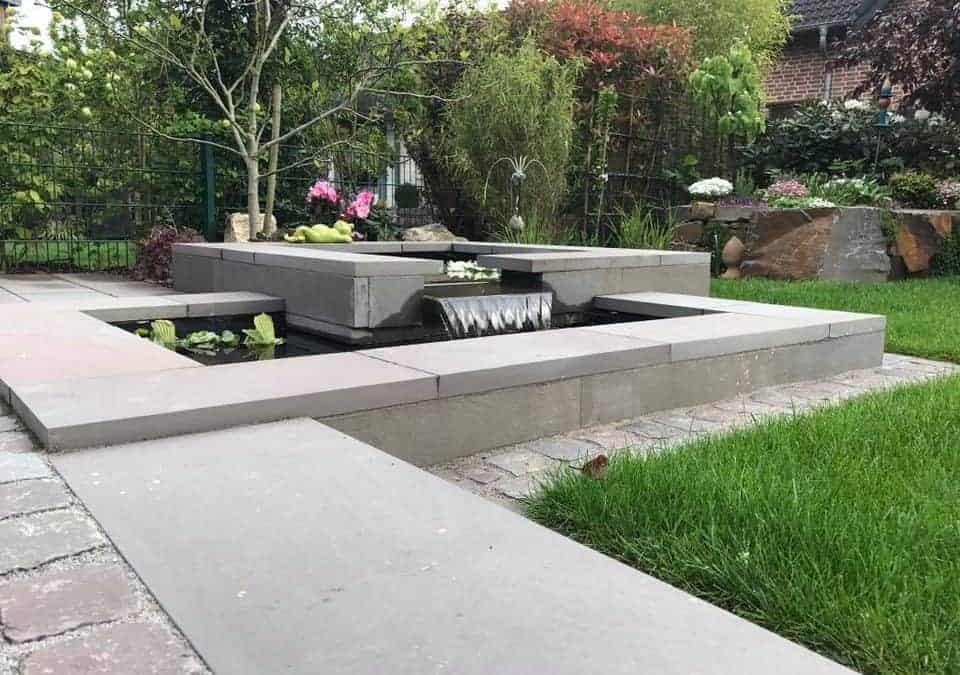Garten- und Teichanlage