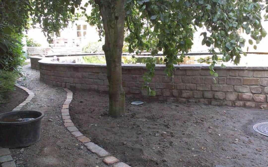 Planung mit viel Stein