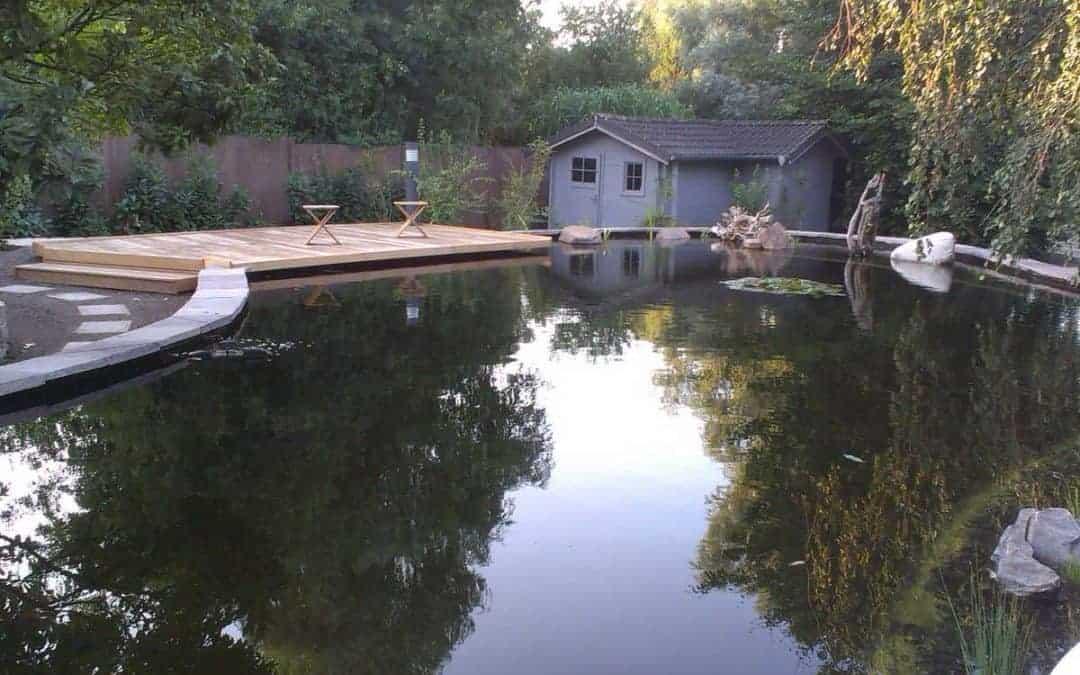 Anlegen eines Teichs